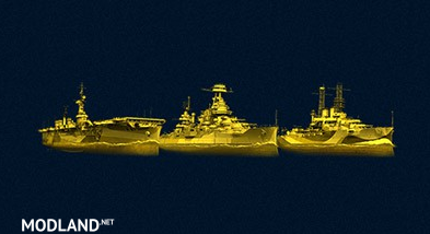 Gold premium ship icons for WoWs [0.7.12]